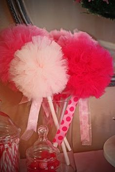 Tulle Fairy wands