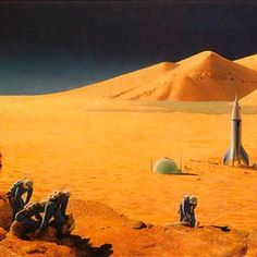 Legendary Chesley Bonestell illustrated fantastic and popular science publications; this is a lesser known example