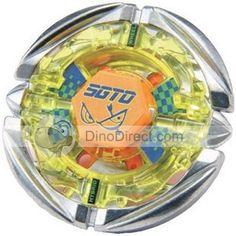 Tomy Flames Sagittarius Adam War Magnetic Beyblade Toy Spinning Top
