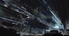 Strike vector hangar by paooo.deviantart.com on @DeviantArt