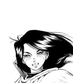 The future has imploded onto the present. Manga Anime, Manga Girl, Anime Art, Alita Movie, Alita Battle Angel Manga, Image Fun, Animation, Science Fiction Art, Anime Comics