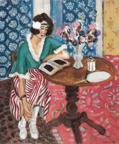 Henri Matisse - Young Woman Reading, 1921 at Kunstmuseum Bern Switzerland
