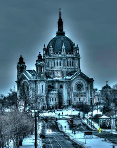 The #Cathedral #Of #Saint #Paul, St Paul, Minnesota by Amanda Stadther.  http://amanda-stadther.artistwebsites.com/