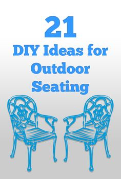 21 Outdoor Seating Ideas That Will Make Your Yard More Inviting!