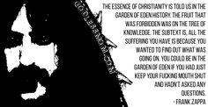 Frank Zappa  #atheist #atheism