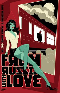 Cool Art: 'From Russia With Love' by Mike Mahle