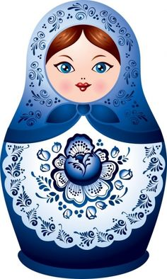 A Matryoshka doll, also known as Matrioshka doll. Matryoshka or Matrioshka is a set of dolls of decreasing sizes placed one inside the other. Matryoshka Doll, Kokeshi Dolls, Peppa E George, Decoupage, Tableau Design, Russian Folk Art, Russian Babushka, Doll Painting, Thinking Day