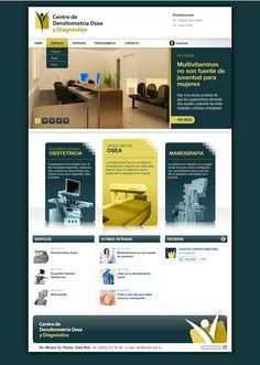 Cliente: Centro de Densitometría Trabajo: Diseño web