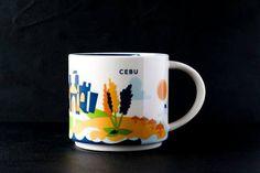 Cebu   YOU ARE HERE SERIES   Starbucks City Mugs
