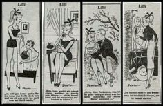In 1952, Lilli appeared in the German newspaper Bild-Zeitung. The comic was created by Reinhard Beuthien. Lilli was a gorgeous, saucy, buxom blonde who often played 'cat and mouse' games with her many admirers.