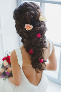 The Most Popular of Quince Hairstyles quince hairstyles curly hair, quince hairstyles for damas, quince hairstyles for short hair, quince hairstyles to the side, quinceaner Quince Hairstyles, Formal Hairstyles, Bride Hairstyles, Cute Hairstyles, Spanish Hairstyles, Bridesmaid Hairstyles, Brunette Hairstyles, Gorgeous Hairstyles, Updo Hairstyle