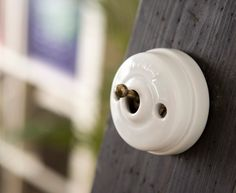 interruptores de porcelana fontini