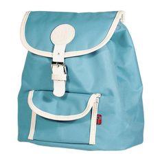 Retro Kinderrucksack - blau