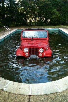 Jeep Oops!<- Isn't this what Jeeps are made for? Just add a snorkle :)