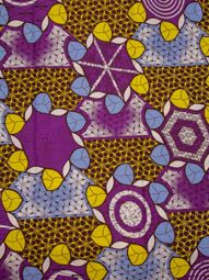 Wholesale African Fabric Super Deluxe Wax Flower Design Colorful sw14090104