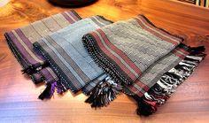 PAMELA WHITLOCK: Bamboo Scarves, handwoven