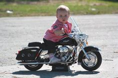 Biker Baby! Very cute oh yes!!! For Ayla and Ashton