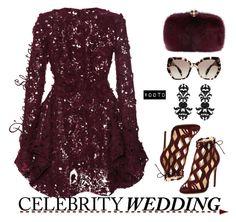 """Celebrity Wedding"" by adswil ❤ liked on Polyvore featuring Giambattista Valli, Alexandre Birman, Alexander McQueen, Prada and ALDO"