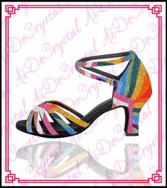 eac31f590580a Aidocrystal New Fashion Wholesale Low Heel Shoes Hot Sale Woman Latin Dance  Shoes Costume