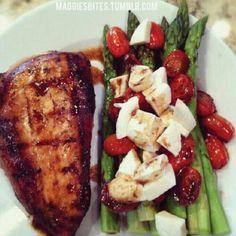 Balsamic Chicken & Asparagus