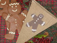 Gingerbread    ...  Christmas banner  ..  by expressionsindesign