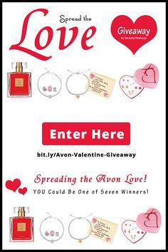 Avon Valentine Day Giveaway Enter to Win and Check Out The Great Avon Valentine Gifts At The Same Time! via @beauty2makeup