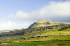 Ingleborough in the Yorkshire Dales National Park, North Yorkshire, England. We hiked to the top from the caves