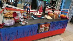Birthday Ideas for Him, Marvel theme, Star Wars theme, Rocky theme, boxing theme (Mma Party) Wrestling Birthday Parties, Wrestling Party, Wwe Birthday, Birthday For Him, Adult Birthday Party, Star Wars Birthday, 40th Birthday Parties, Birthday Ideas, Theme Parties