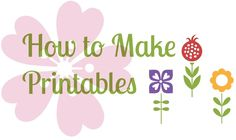 Learn How to Make Printables with PicMonkey