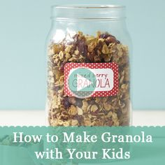 Our homemade granola recipe is healthy and easy to make with your kids. See how:  http://www.parents.com/videos/v/71564737/how-to-make-granola-with-your-kids.htm?socsrc=pmmpin130617hsGranola