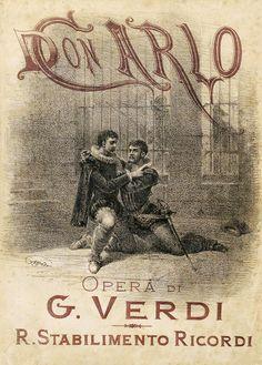 Spartito-Don-Carlo Giuseppe Verdi  #TuscanyAgriturismoGiratola