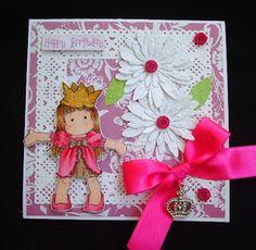 Márcia - cartões: Cartão para uma princesa e mimos recebidos - 43/2017