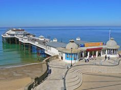 Cromer - Norfolk - England Did my Apprenticeship at the Hotel de Paris overlooking the pier Norfolk Beach, Norfolk Coast, Norfolk England, Scary Places, Haunted Places, Cromer Norfolk, Places To Travel, Places To Visit, Norfolk Broads