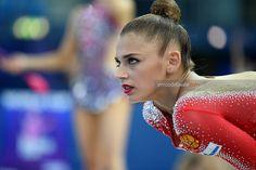 Alexandra SOLDATOVA (Russia) ~ Listened to her coach before the start of her routine @ World Cup Pesaro-Italia ~ 07-09/04/'17   Enrico Della Valle.