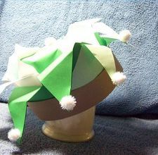 How to make a paper jester hat