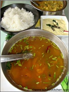 Mysore Rasam Method I - Subbus Kitchen