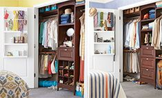 Tailor a Closet - like the door part... DIY instructions