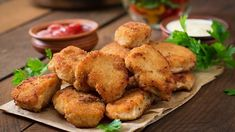 This easy, gluten free chicken nugget recipe is a hit with children and adults alike. It uses coconut flour instead of wheat flour. Gluten Free Chicken Nuggets Recipe, Healthy Chicken Nuggets, Frozen Chicken Nuggets, Homemade Chicken Nuggets, Chicken Nugget Recipes, Baked Chicken Tenders, Chicken Tender Recipes, Chicken Bites, Keto Chicken