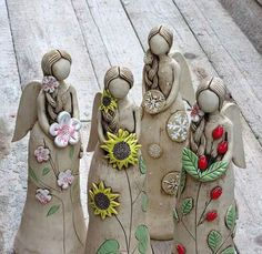 Paper Clay, Clay Art, Clay Angel, Pottery Angels, Paper Mache Sculpture, Ceramic Angels, Angel Crafts, Play Clay, Slab Pottery