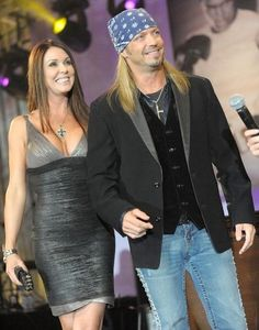 Brett Michaels and Kristi Gibson #examinercom