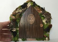Hey, I found this really awesome Etsy listing at https://www.etsy.com/listing/214991153/enjoy-the-journey-a-fairy-door-that