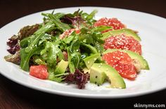 Avocado and Grapefruit Salad- the perfect summer #lunchsalad