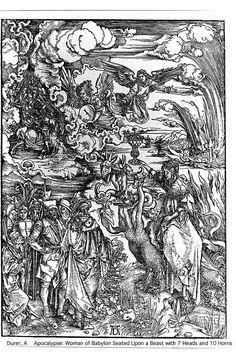 Whore of Babylon, by Albrecht Durer.