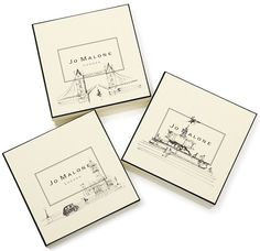 Jo Malone Londond landmarks gift box. Wish I could get one of these, only avail in London.