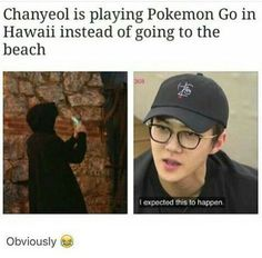 He probably even went to the beach but didn't notice xD