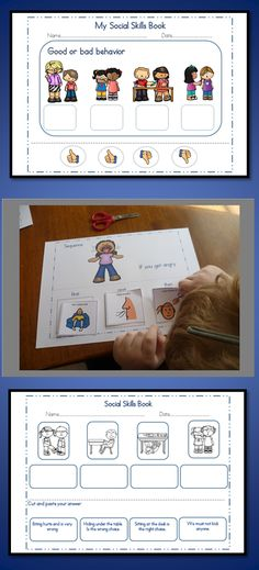 Social Skills Printable pages My Social Skills unit will allow your students to practice their class social skills in a fun way!