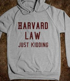 The official sweatshirt of the tv show Suits! Found on Stunnish Entertainment #suits #harvard #harvard_law