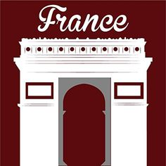 France Arch Of Triumph Home Decal Vinyl Sticker 12 X 12 -- See this great product.-It is an affiliate link to Amazon. #WindowStickersFilms