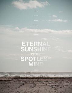 O Brilho Eterno de uma Mente Sem Lembranças - Poster by Daryl Paz, via Behance