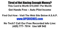 500 - 3000 with this cheesy postcard Make Money Now, Lead Generation, Passive Income, Opportunity, Success, Big, Check